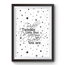 Poster Twinkle Twinkle Little Star