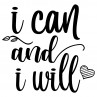 I can and I will | Muurteksten.nl